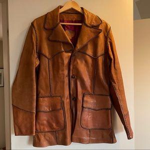 NORTH BEACH LEATHER Vintage 70s Jacket